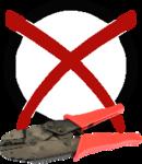 Stoffarmband - keine Zange notwendig